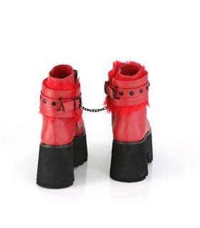 Demonia DEFIANT-200 Stiefel Schwarz Springer Stiefel Combat Boots Gothik Punk