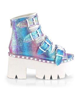 Plateau Boots ASHES-70 Mehrfarbig