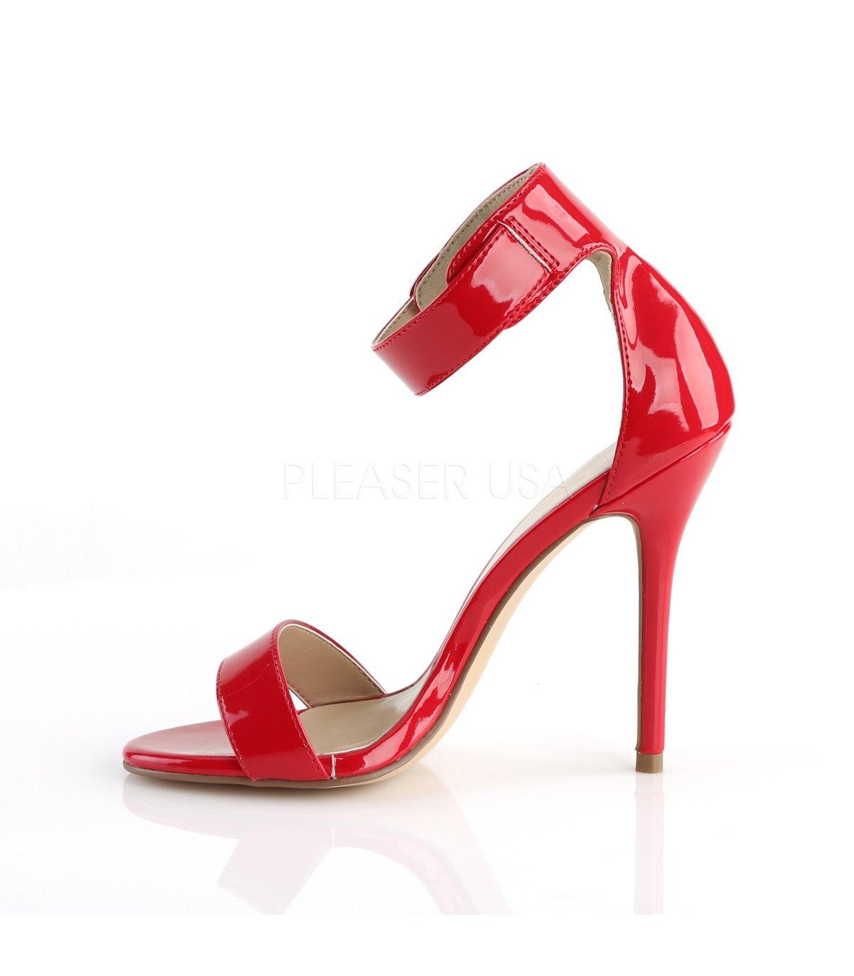 0b060e58927cf Kaufen Pleaser Sandaletten Online 10 Amuse Dxboerc Rot wmvN8nO0