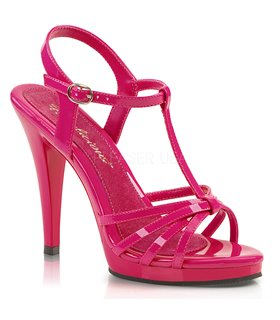 Sandalette FLAIR-420 - Lack Hot Pink