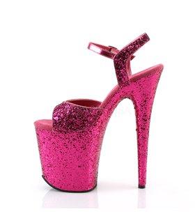 Extrem Plateau Heels FLAMINGO-810LG - Hot Pink