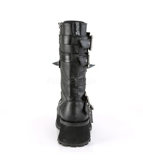 Demonia Halbschuhe GRAVEDIGGER-250 schwarz