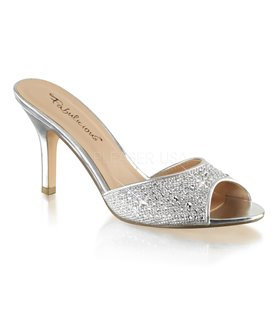 Pantolette LUCY-01 - Silber