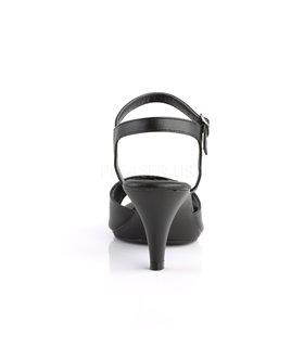 Sandalette BELLE-309 - PU Schwarz