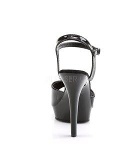 Sandalette LIP-109 - Lack Schwarz