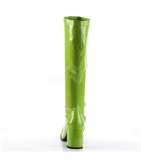 Retro Stiefel GOGO-300 - Lack Lime