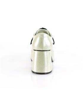 Herren Plateauschuhe JAZZ-02G - Glitter Gold