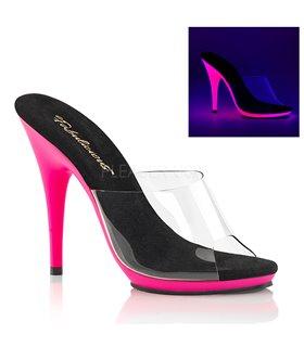 Neon Pantolette POISE-501UV - Pink