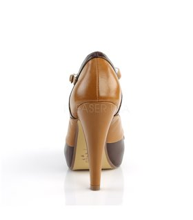 Retro Pumps BETTIE-29 - Braun