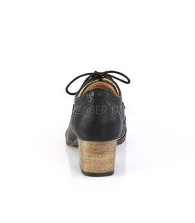 Pin Up Couture Herren Schuhe RUSSELL-34 schwarz