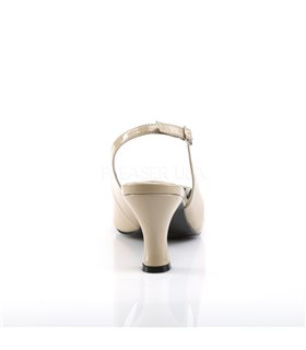 Pleaser Pumps JENNA-02 Beige