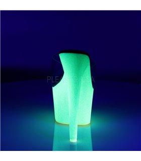Plateau Heels ADORE-701UVG - Neon Gelb