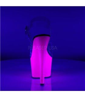 Plateau Sandalette ADORE-708UV - Neon Lila
