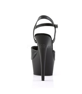 Plateau High Heels DELIGHT-609 - Matt Schwarz