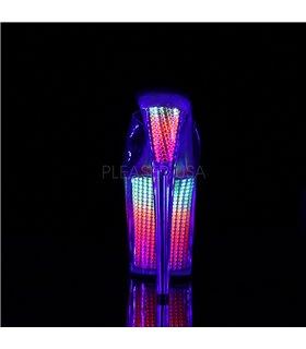 Extrem Plateau Heels FLAMINGO-801SRS - Neon Multi