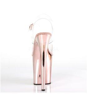 Extrem Plateau Heels FLAMINGO-808 - Rosé