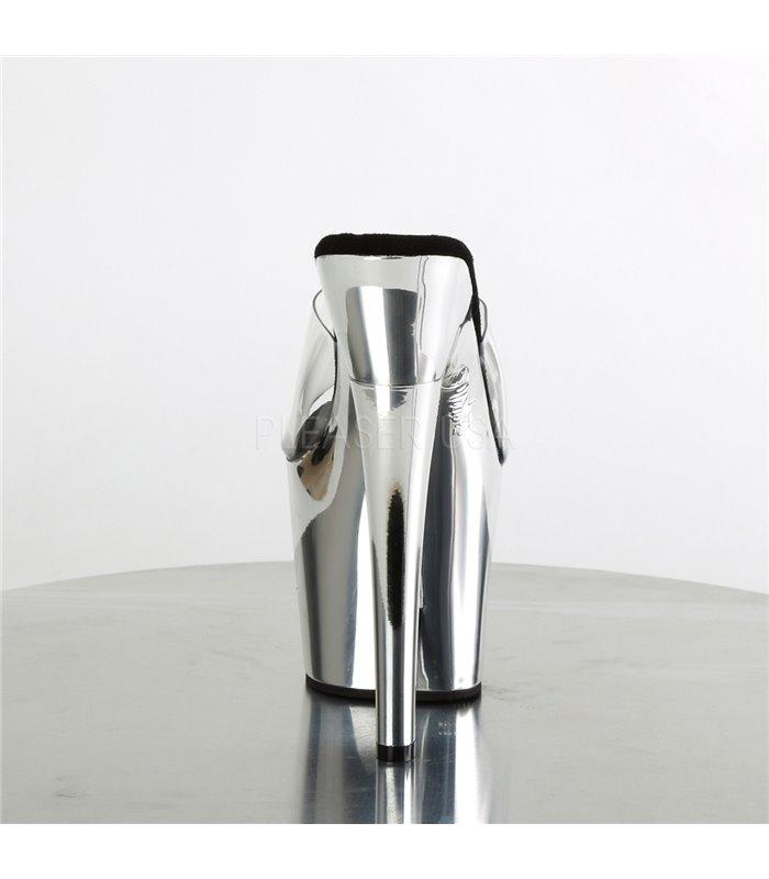 Plateau Pantolette RADIANT-701 - Silber Chrom