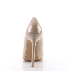Stiletto High Heels SEXY-20 - Lack Nude