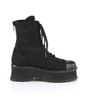 Plateau Schuhe GRAVEDIGGER-10 - Schwarz