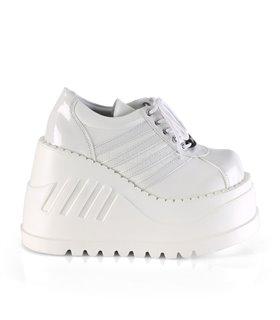 Plateau Schuhe STOMP-08 - Weiss