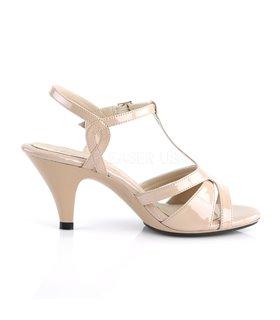 Sandalette BELLE-322 - Lack Creme