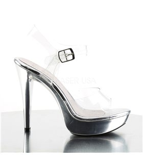 Sandalette COCKTAIL-508 - Silber