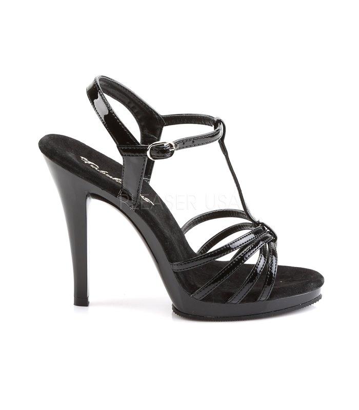 Sandalette FLAIR-420 - Lack Schwarz