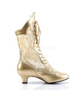 Stiefelette DAME-115 - Gold
