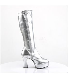 Plateaustiefel EXOTICA-2000 - Silber