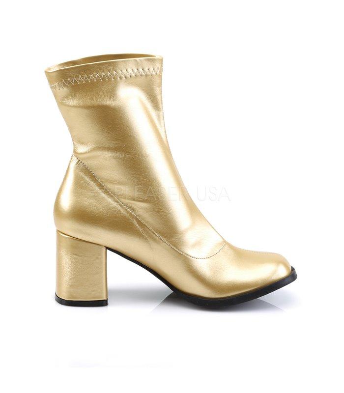 Klassische Stiefelette GOGO-150 - Gold