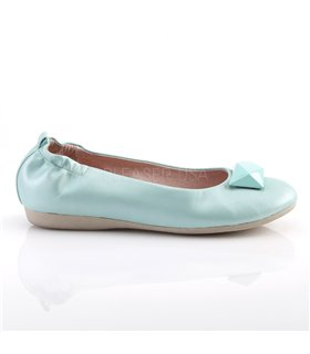 Pin Up Couture Ballerinas OLIVE-08 Blau