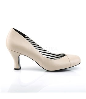 Pleaser Pumps JENNA-01 Beige