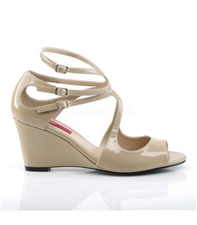 Wedges KIMBERLY-04 - Lack Creme