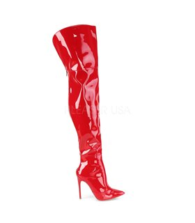 Overknee Stiefel COURTLY-3012 - Lack Rot