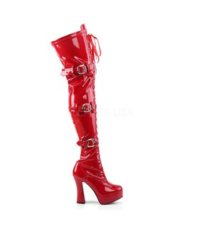Overknee Stiefel ELECTRA-3028 - Lack  Rot