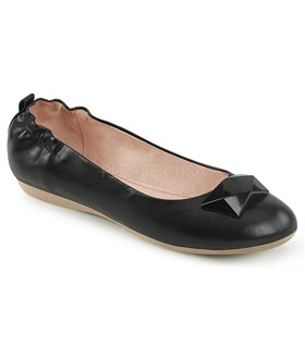 Pin Up Couture Ballerinas OLIVE-08 Schwarz