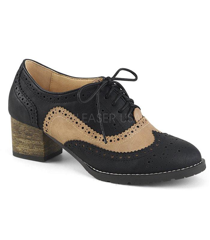 finest selection b8039 9ab10 Pin Up Couture Herren Schuhe RUSSELL-34 schwarz braun online günstig kaufen