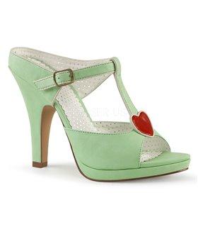 Pin Up Couture Sandaletten SIREN-09 Grün
