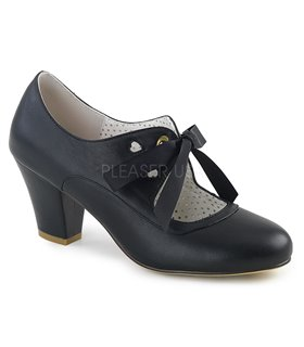Retro Pumps WIGGLE-32 - Schwarz