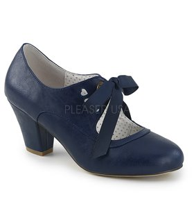 Retro Pumps WIGGLE-32 - Dunkelblau