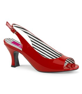 Pleaser Pumps JENNA-02 Rot