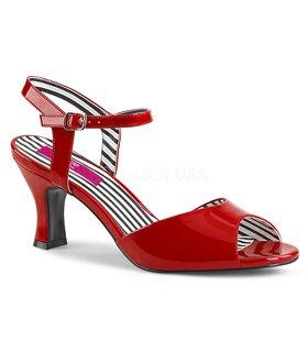 Pleaser Sandaletten JENNA-09 Rot