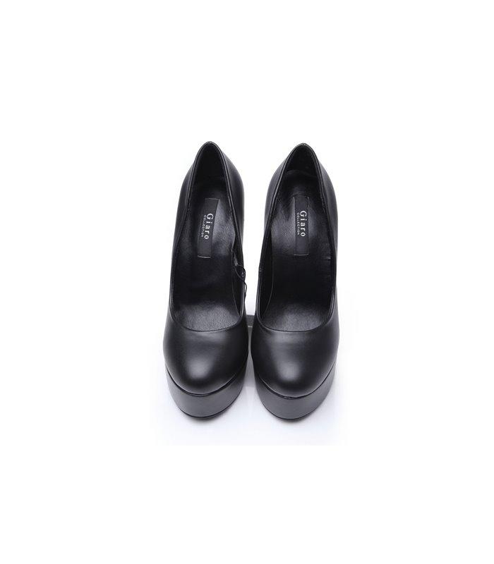 Giaro Galana 1001 luxus Plateau High-Heels schwarz