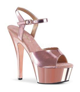 Plateau Sandalette KISS-209 - Rose Gold