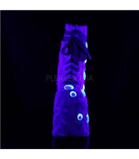 Plateau Stiefeletten SLAY-206 - Neongelb