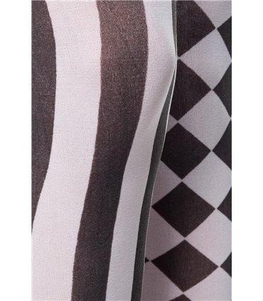 Pleaser Adore-701 Hohe Plateau-Pantoletten Silber/Chrome