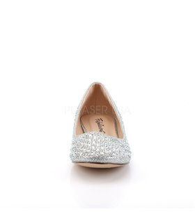 Fabulicious Ballerinas TREAT-06 Silber