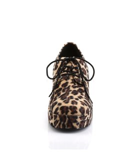 Herren Plateauschuhe PIMP-02 - Leopard
