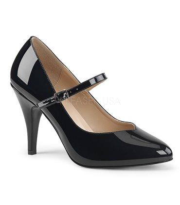 DEMONIA MUERTO-1026 Stiefel mit Schnallen Gothik Totenkopf schwarz