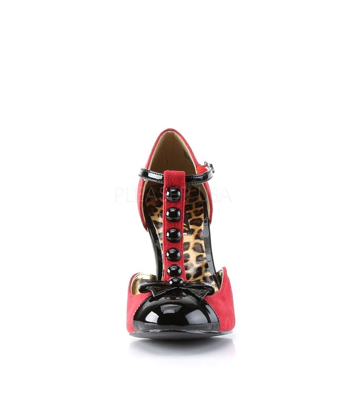 Pin Up Couture Pumps SMITTEN-10 Rot